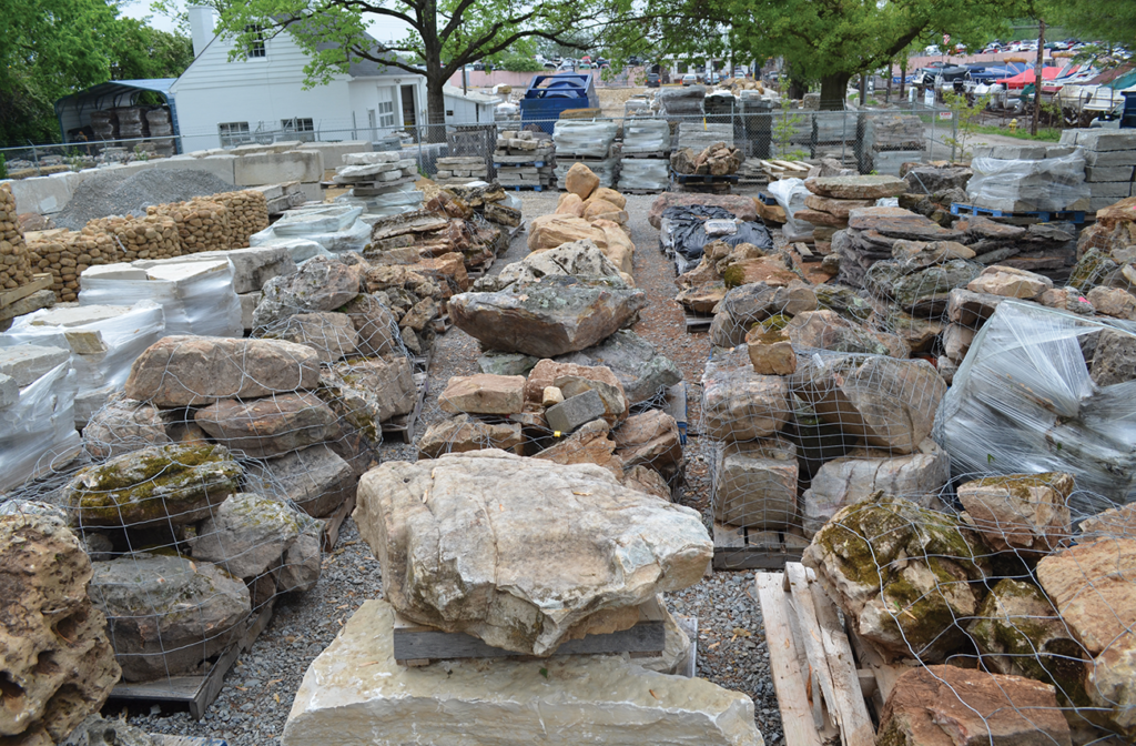 We have sseveral outcropping options in stock every day!