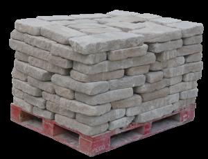 Indiana Limestone Tumbled Wall Stone