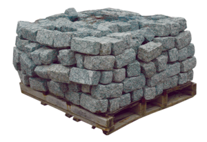 Gray Granite Cobblestone